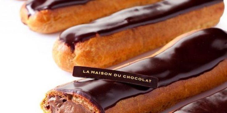 Εκλέρ σοκολάτας από το Στέλιο Παρλιάρο