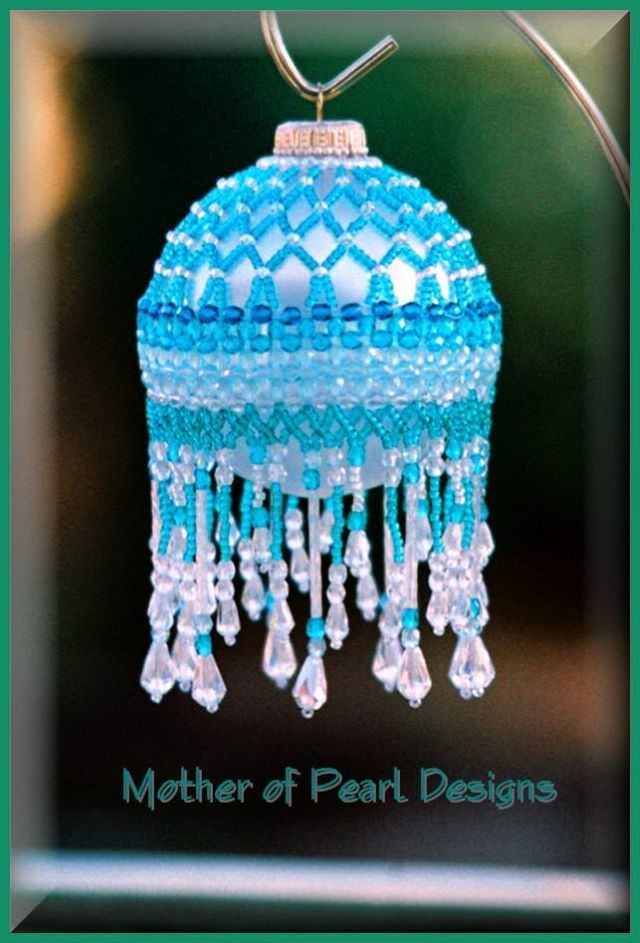 beaded christmas ornament patterns | Free Beaded Victorian Ornaments Patterns | ... ... | Beaded ornaments