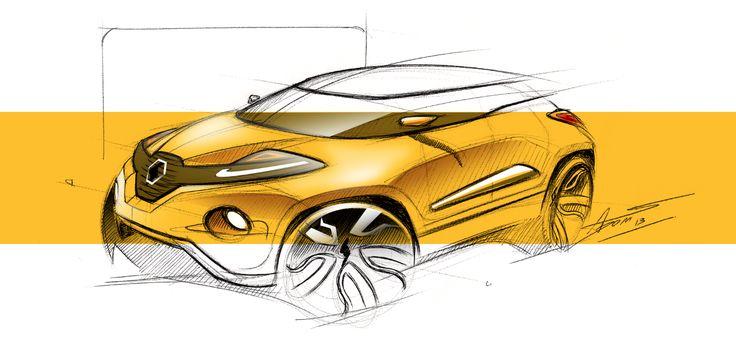 Renault sketch