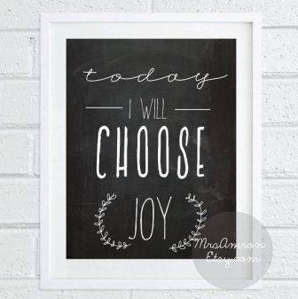 Happy Art - Today I Will Choose Joy