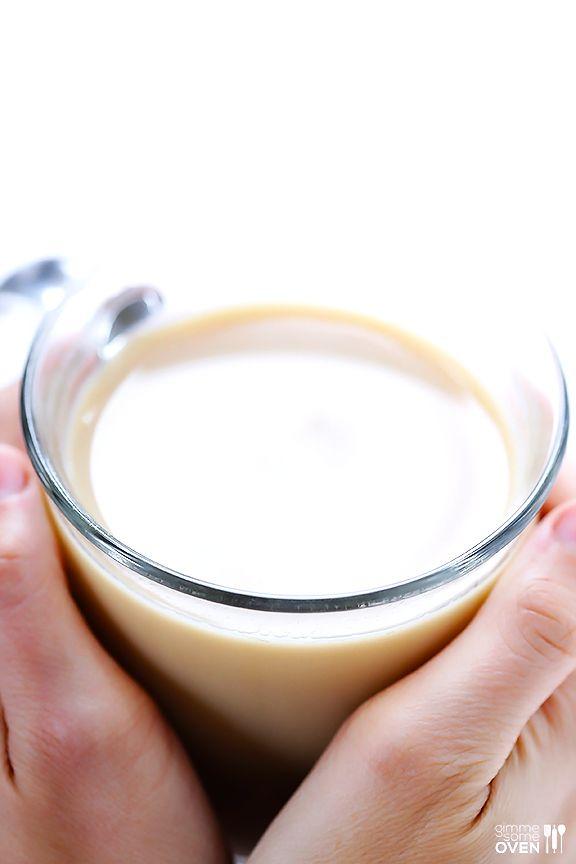 DIY London Fog Tea Latte (Earl Grey Latte) | gimmesomeoven.com