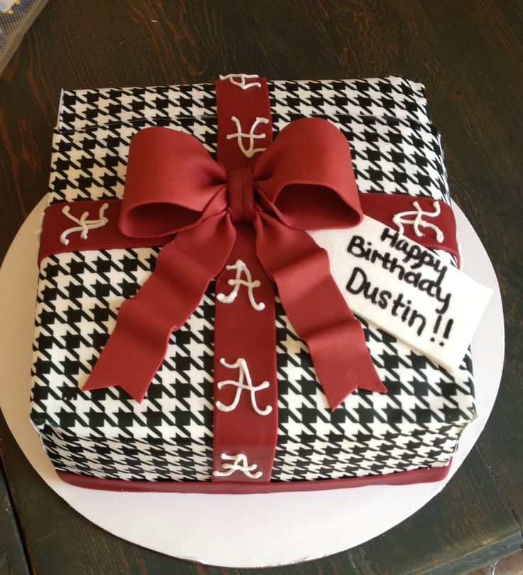 I have a lot of friends that would love this cake!