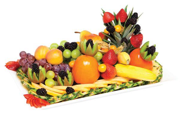 Fresh Fruit Platter from #YummyMarket