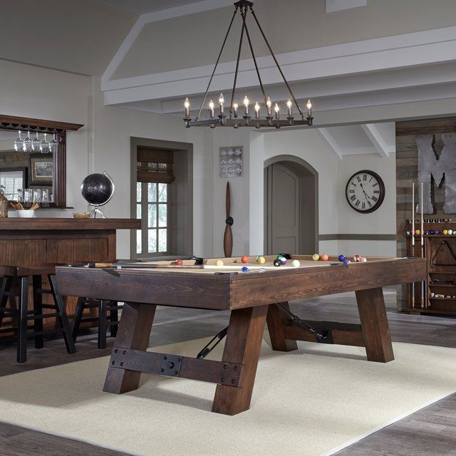 The Savannah Pool Table By American Heritage Billiards