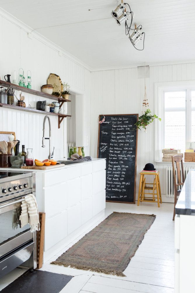 Scandinavian Styling in a Swedish Homestead