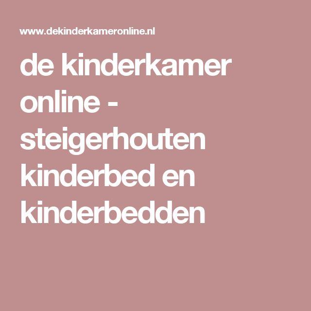 de kinderkamer online - steigerhouten kinderbed en kinderbedden