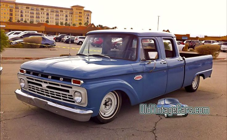 Old Ford Trucks Double Cabin