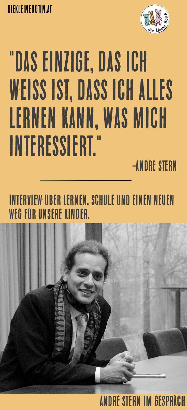 André Stern im ehrlichen Interview über das Lernen, die Schulue und einen neuen Weg für unsere Kinder. Erziehung und was wir daraus machen ist wegbereitend für unsere Kinder. #erziehung