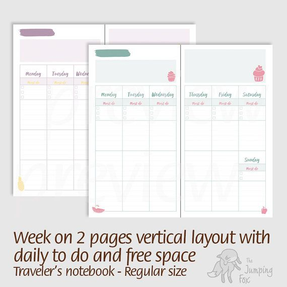 45 best The Jumping Fox Shop images on Pinterest Agenda - layout of an agenda