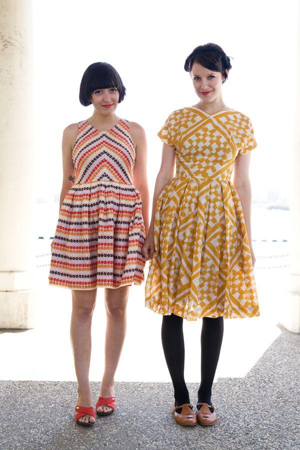 Pattern! Calvin Vintage & Bluebird Vintage photo by Aubrey McCoy