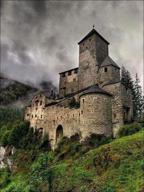 Campo Tures Castle ( Taufers Castle ) 13 th century in Souhern Tyrol , Northern Italy