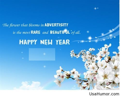 Happy new year message for him