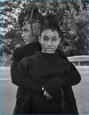 Interview magazine enlists brother and sister, Willow and Jaden Smith to cover its September 2016 issue. Embracing a fashion-forward edge, the pair is photographed by Steven Klein. Donning gender neutral styles, Jaden and Willow are styled by Karl Templer, rocking brands such as Calvin Klein Collection and Rick Owens. Talking to the magazine, Jaden praises... [Read More]