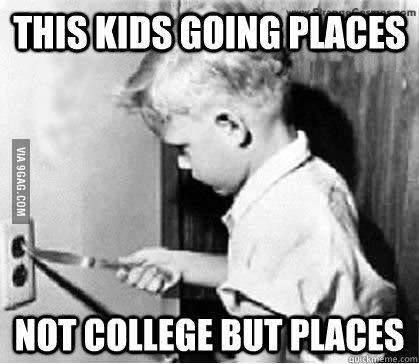 Kid going places #humor