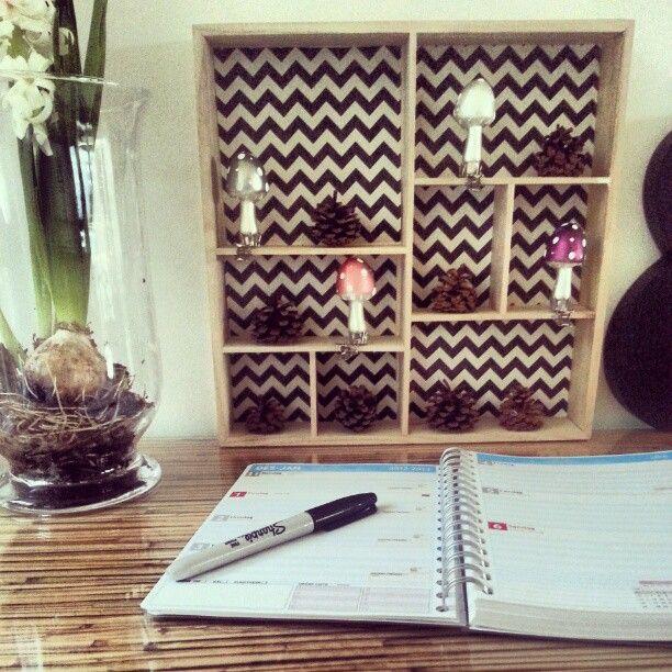 Her planlegger @livingfourseasons med almanakk fra www.personligalmanakk.com. Godt å se den i bruk!