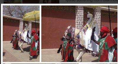 #Emir of Kano, Lamido Sanusi arrives his palace following trip to Saudi Arabia (photos) #vibes247
