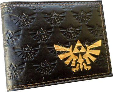 The Legend of Zelda: Triceforce Embossed Print Bi-Fold Wallet