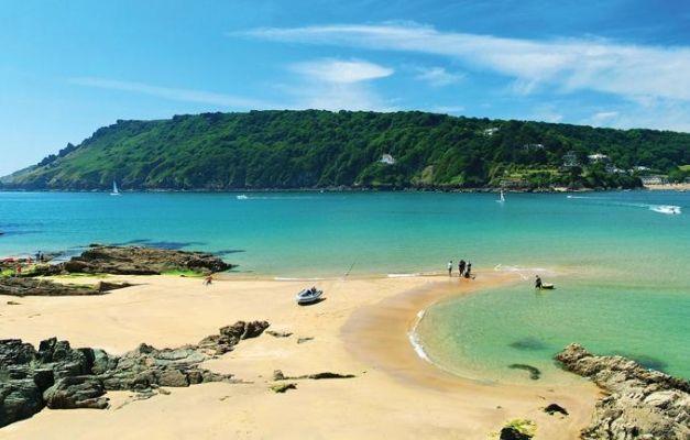 Salcombe, south Devon, UK