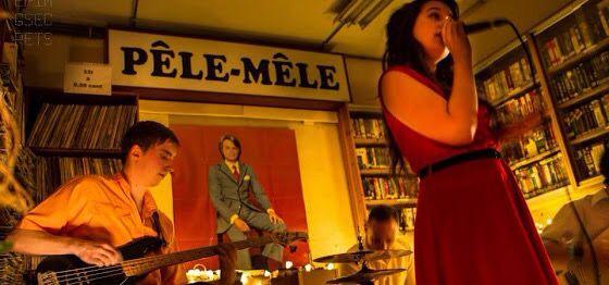 Pele mele second hand bookstore Brussels