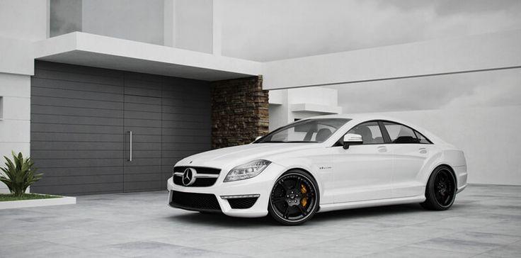 Mercedes CLS 63 AMG mit 3-teiligen Schmiedefelgen 6Sporz² in 10,0+12,0x20 Zoll sowie elektromechanischem Spezial Gewindefahrwerk by Wheelsandmore