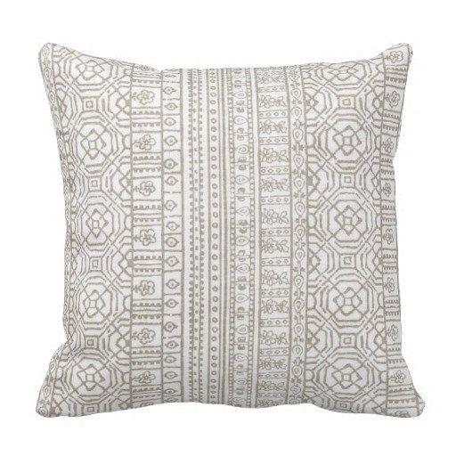 Outdoor Pillows, Outdoor Throw Pillows,Patio Decor,Beige Decorative Pillows,  Patio Pillows