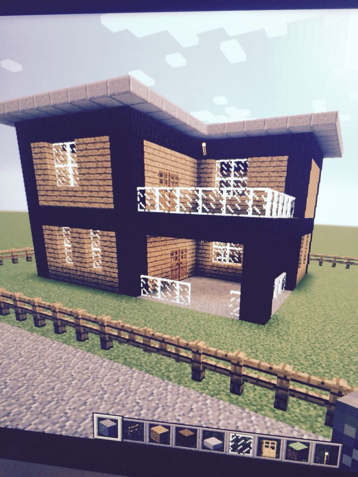 Cute easy house 8 of my world minecraft furniture for Easy things to build