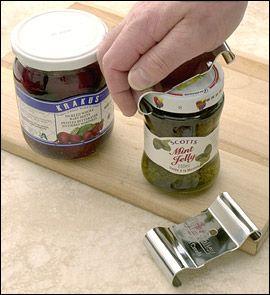 Lee Valley Jar Opener - No more punching holes in lids!