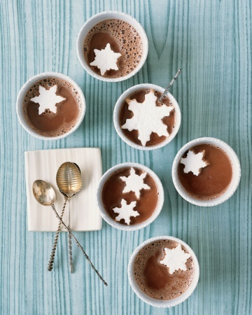 Cocoa with Floating Marshmallow Snowflakes | Yummmyyy for ...