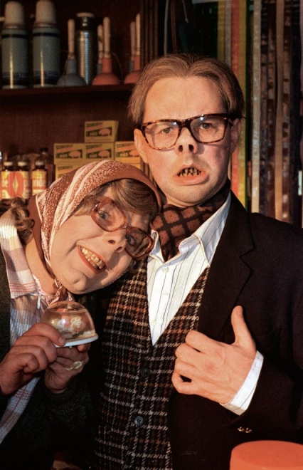 Steve Pemberton as Tubbs and Reece Shearsmith as Edward in 'The League of Gentlemen' (from our article on The Grotesque)