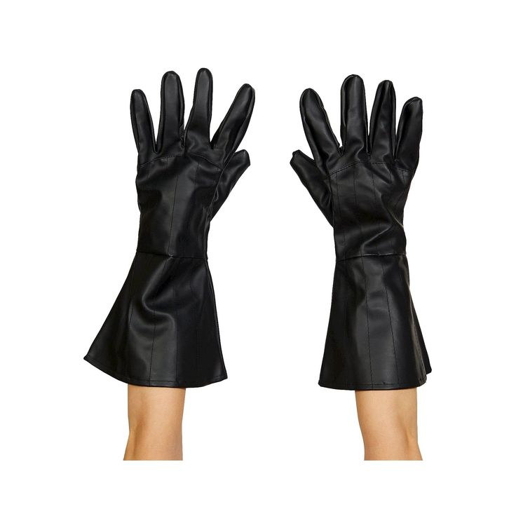 Halloween Star Wars Darth Vader Adult Gloves One Size Fits Most, Adult Unisex, Black