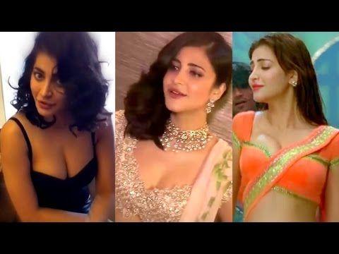 Shruti Haasan HOTTEST B**Bs Cleavage Show HD Compilation