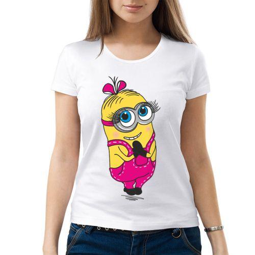 Девочка миньон - Женская футболка от VseMayki.RU