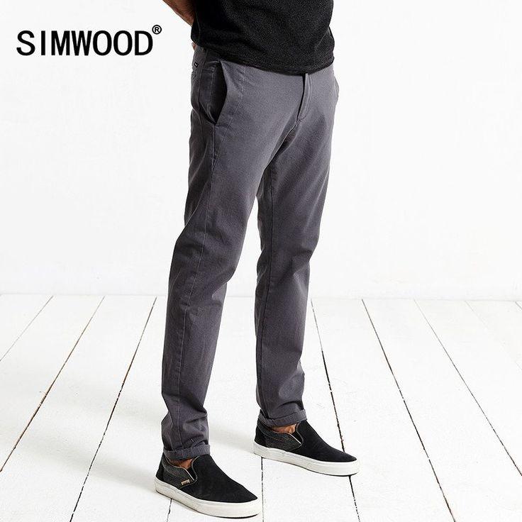 new arrival  new autumn winter pants men  causal trousers cotton fashion black length