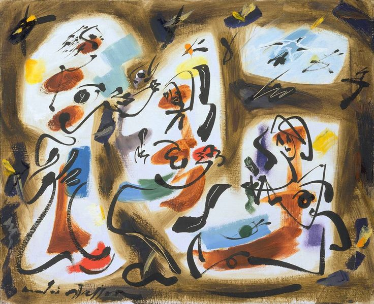 Kitchen maids andre masson wikiart org