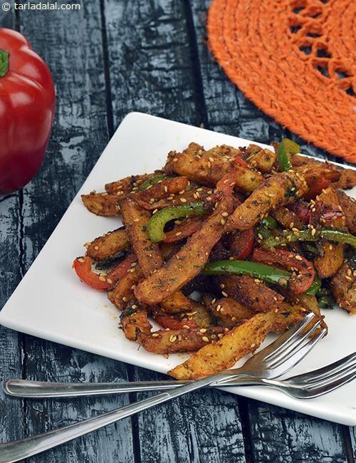 Chatpate Aloo recipe   Punjabi Recipes   by Tarla Dalal   Tarladalal.com   #30876