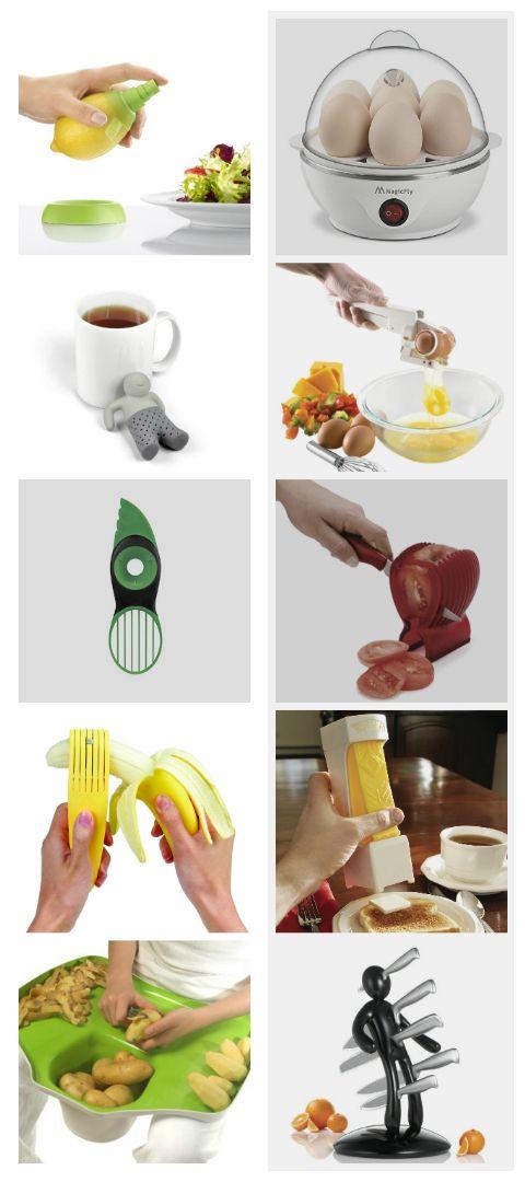 Akcesoria kuchenne - 10 gadżetów (nie)zbędnych w każdej kuchni