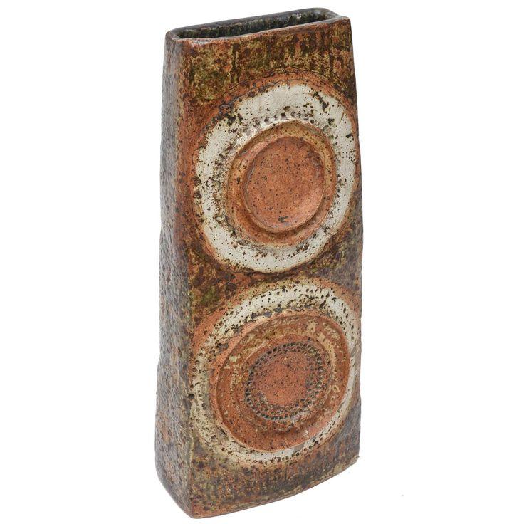 Alan Wallwork Sculptured Vase
