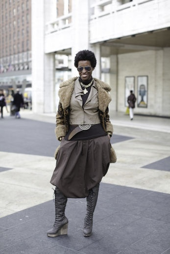 Conscious Planet Media co-CEO, and eco fashion maven, Bianca Alexander looked amazing at New York Fashion Week.