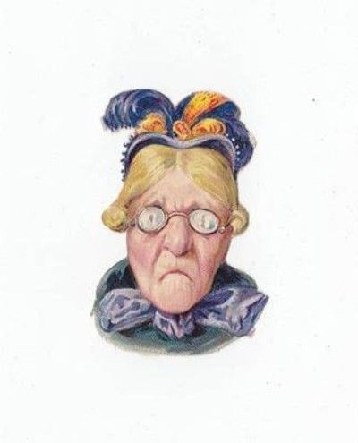 13 Victorian Die Cuts Funny English People Busts Lady Hats Beer Glasses Scraps (07/04/2012)