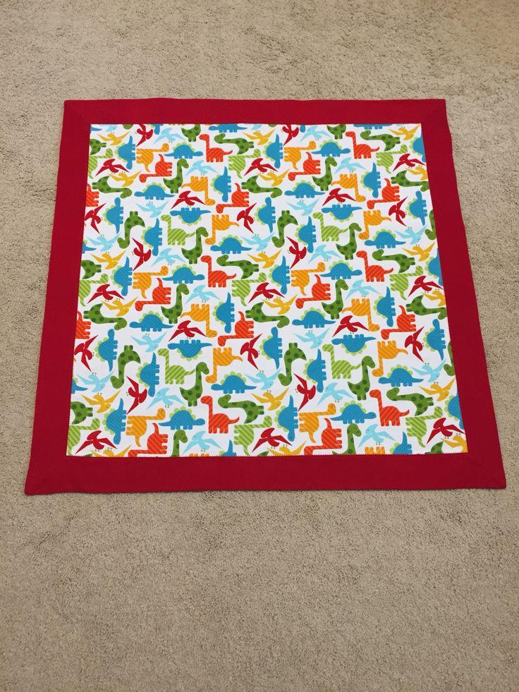 Self Binding Receiving Blanket Great You Tube Tutorial