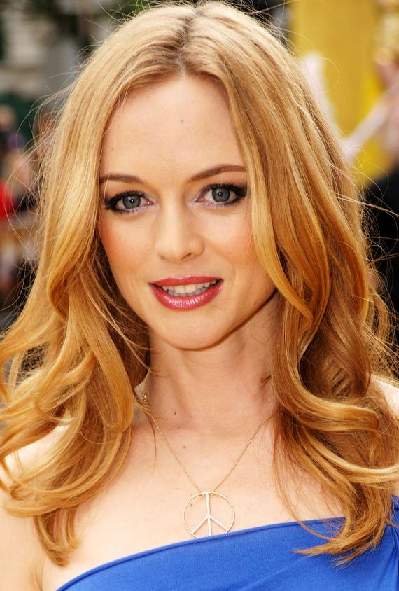 I've always liked Heather Graham