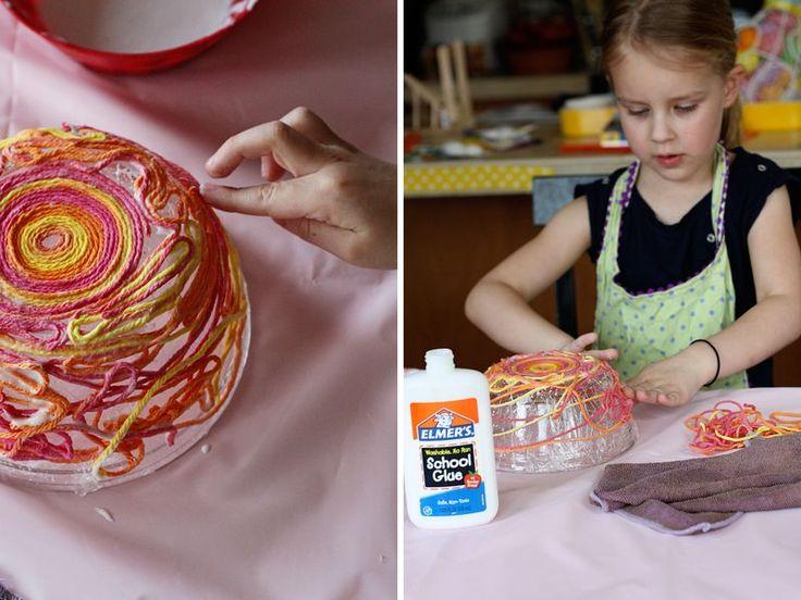Yarn Bowls--this seems like something for budding fiber artists