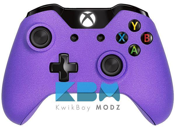 Metallic Purple Custom Xbox One Controller #kwikboymodz #xboxone #customxboxonecontroller #purple #metallicpurple #gamer