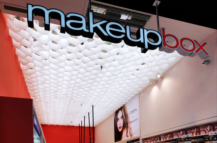 Make Up Box | Cosmetics store design | Med. Cosmos | Thessaloniki | iidsk  |  Interior Design & Construction