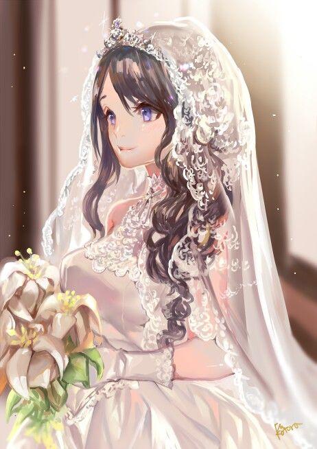 145 Best Anime Girl Wedding Dress Images On Pinterest Anime - Anime Wedding Dress