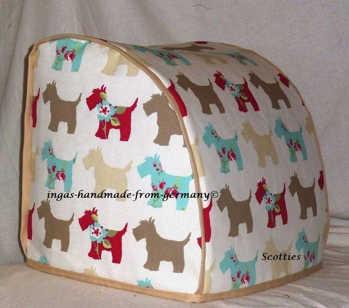 Abdeckung©, Vorwerk Thermomix TM 31, Scotties,  von ingas-handmade-from-germany® auf DaWanda.com