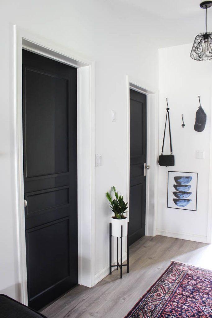 A Brand New Interior Door Design To Complete Our Modern Hallway