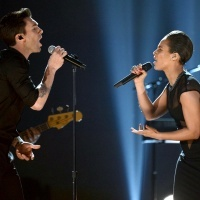 Adam Levine And Alicia Keys | GRAMMY.comMusic, Grammy 2013, Grammy Awards, Adam Levine, Alicia Keys, Annual Grammy, Keys Performing, 2013 Grammy, Grammy'S Com
