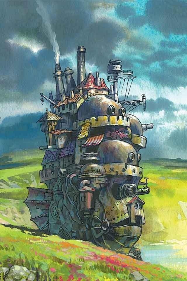 Miyazaki Howl S Moving Castle Studio Ghibli Studio Ghibli