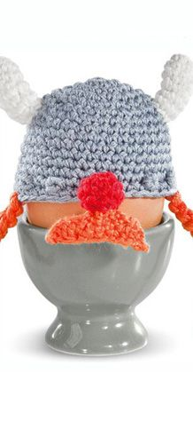Wikinger Eierwärmer - witzige Idee zum nachmachen